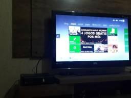 Xbox 360 Slim Bloqueado Completo + Jogos Originais