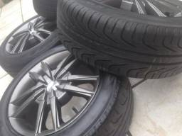 Rodas aro 15 com pneu