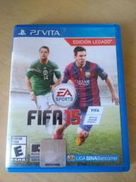 "Jogo ""FIFA 15"" de PsVita V/T"