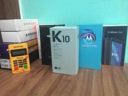 Celulares lacrados , j6 , moto x4, k10 novo , zenfone e etc.( fornecedor para atacado )