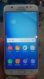 Galaxy J7 4G prime 32giga rosa semi novo 2chip com trinco