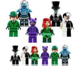 Bonecos Lego Marvel Batman Vilões - C/ Equipamento
