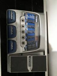 Pedaleira de guitarra digitech RP 300