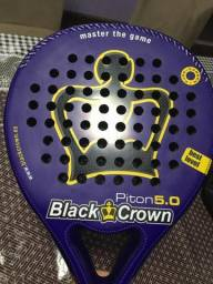 Raquete de Padel Black Crown