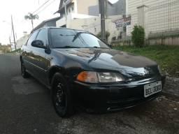 Honda Civic lx at 1.5 102cv 1993 Japonês - 1993