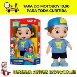 Boneco Infantil Luccas Netto 14 Falas Rosita Entrega Antes Do Natal