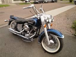Harley Davidson Shovelhead 1978 único dono Carburada