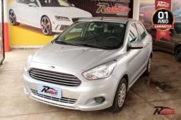 Ford Ka   Sedan 1.0 Prata - 2015