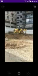 Aluguel de Retro escavadeira