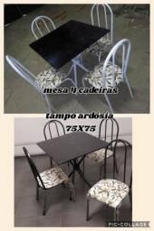 Mesa 4/6 cadeiras à partir de R$279,00 à Vista
