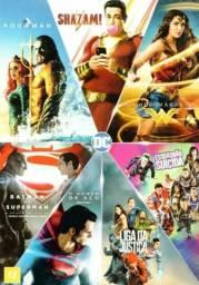 Dvd Coleção Dc - 7 Filmes - Dublados - Liga Dos Heróis - Wb