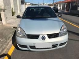 Clio Sedan 1.6 16v completo 2° dono