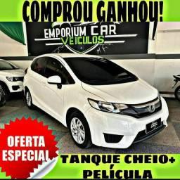 TANQUE CHEIO SO NA EMPORIUM CAR!!!! HONDA FIT LX 1.5 AUT 2016 COM MIL DE ENTRADA