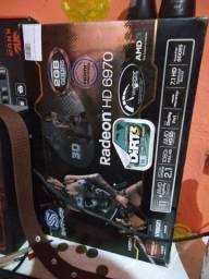 Placa de vídeo Radeon HD 6970 top