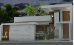 Uma ótima casa em obra em andamento