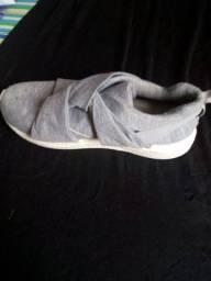 Sapato de tecido