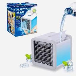 Mini ar condicionado/umidificador portátil USB ou tomada purifica, umidifica e esfria