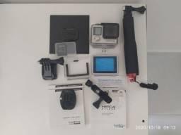 Câmera Gopro Hero 4 Silver Com Acessórios Muito Conservada