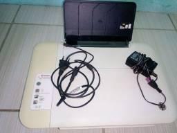 Impressora HP Deskjet Prin, Scan, Copy...