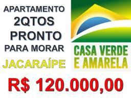 SCL - 122 - More no Mar Atlantico, Jacaraípe!2Qts, Suíte!