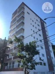 Apartamento com 1 dormitório à venda, 42 m² por R$ 185.000,00 - Canto do Forte - Praia Gra