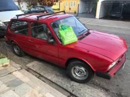 Linda VW Brasília 1.6 ano 1978 vermelho Gasolina, Carro para colecionadores