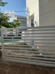 Portão aluminio