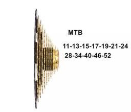 K7 12 Velocidades Dourado