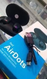 Airdots primeira linha, novo da caixa