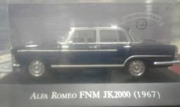 Miniatura Fnm 2000 Jk 1967 Coleção Carros Inesquecíveis Br