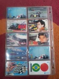 Coleção de cartões telefonicos RELÍQUIA!
