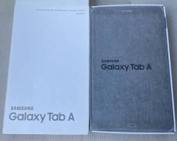 Galaxy Tab A novo, na caixa
