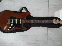 Guitarra Shelter Strato + captador malagoli