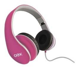Fone De Ouvido Headphone Com Fio Oex Sense Hp100 - Dobrável