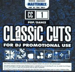 Dj classic cuts -classic cuts - compilações para dj's - raridade