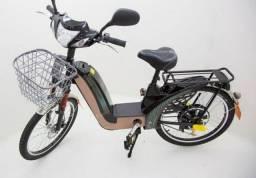 Bicicleta elétrica semi nova - Sousa bike