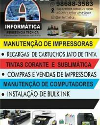 Instalacao de bulk ink 8100/8600/8610/8610
