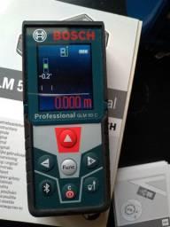 Trena Laser 50m Bosch - GLM 50 C Professional com Nível e Bluetooth