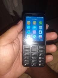 Telefone celular positivo