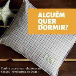 Travesseiro Aromático de Ervas Noite Feliz - 100% Ervas
