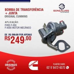BOMBA DE TRANSFERÊNCIA + JUNTA ORIGINAL CUMMINS