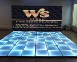 DJ iluminação som piso de led