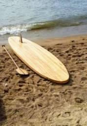 Stand Up Paddle Feito 100% em madeira de alto padrão