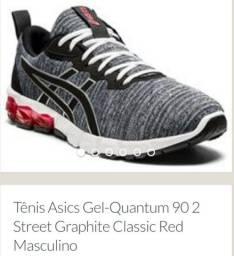 Tênis Asics Gel-Quantum 90 2 Street Graphite Classic Red Masculino<br>