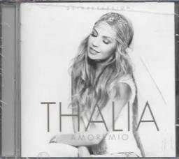 CD: Thalia - Amore Mio deluxe (c/ Fat Joe; Becky G)