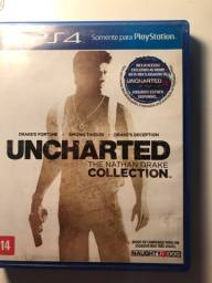 Uncharted collection PS4 JOGO