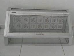 Expositora de vidro 90x40cm