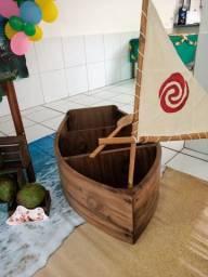 Barco decoração