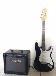 Guitarra Condor Rocky + Amplificador Meteoro