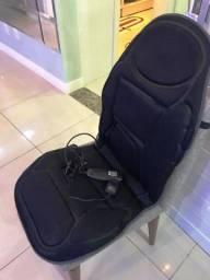 Excelente e prático assento massageador, muito confortável e relaxante